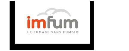 Logo imfum : fumage sans fumoir